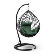Подвесное кресло-кокон ALICANTE черное + каркас