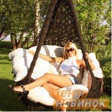 Кресло - гамак CARTAGENA коричневый
