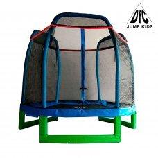 Батут DFC JUMP KIDS 7' синий, сетка (210см), НОВИНКА