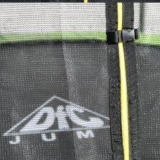 Батут DFC JUMP 6ft складной, сетка, чехол, apple green (183см)