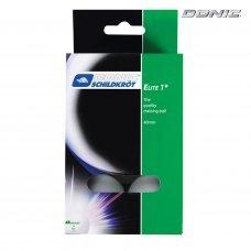 Мячики для н/тенниса DONIC ELITE 1, 6 штук, белый