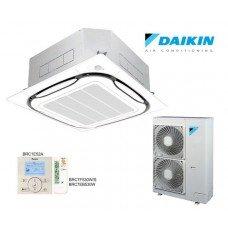 Кассетный кондиционер Daikin FCQG100F / RR100BV / W