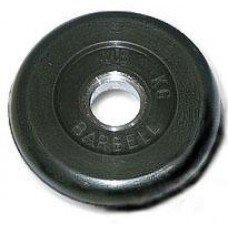 Диск обрезиненный МВ Barbell 15 кг 43284