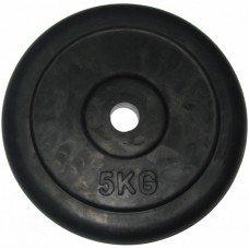 Диск для штанги обрезиненый RJ1030 5 кг 65446