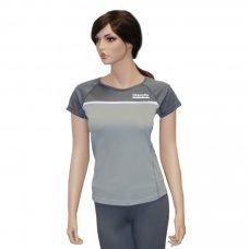 Футболка женская для фитнеса Kampfer Gray (S) 30069