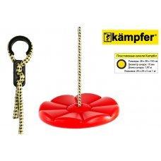 Пластиковые качели-диск Лиана Kampfer S04-112 (Красный) 53657