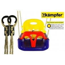 Детские пластиковые качели 3в1 Kampfer 53645