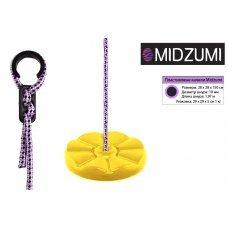 Пластиковые качели-диск Лиана Midzumi (желтый) 61312