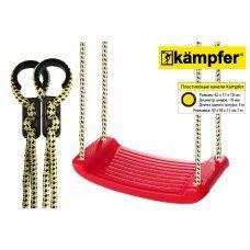 Пластиковые навесные качели Kampfer S04-101 (Красный) 53652