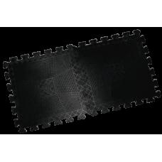 Коврик резиновый Barbell 400 х 400 х 20 мм чёрный