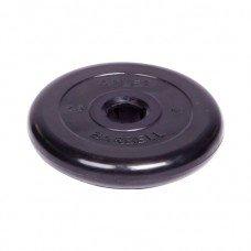 Диск обрезиненный Barbell Atlet d 51 мм чёрный 2,5 кг