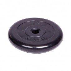 Диск обрезиненный Barbell Atlet d 31 мм чёрный 2,5 кг