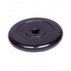 Диск обрезиненный Barbell Atlet d 31 мм чёрный 5 кг