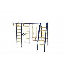 Спортивный комплекс Лидер Д1-01 сине/жёлтый