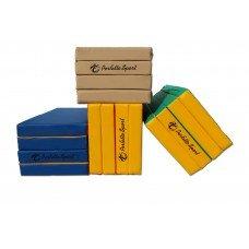 Мат Perfetto Sport № 5 (100 х 200 х 10) складной 3 сложения зелёно/жёлтый