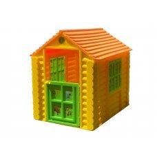 Домик Лесной МИМИМИШЕК (Жёлтый, зелёный, коричневый) 512