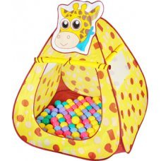 Игровой домик Ching-Ching Жираф CBH-11 + 100 шариков