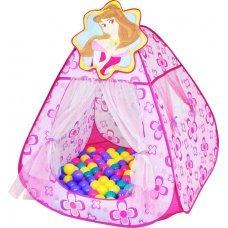 Игровой домик Ching-Ching CBH-13 Принцесса + 100 шариков