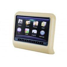 Навесной монитор со встроенным DVD плеером и LCD монитором 9' Ergo ER9L (бежевый) [ER9L beige]