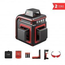 Построитель лазерных плоскостей (лазерный уровень) ADA Cube 3-360 Home Edition