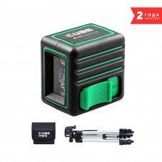 Построитель лазерных плоскостей (лазерный уровень) ADA Cube MINI Green Professional Edition