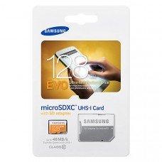 Карта памяти Samsung microSDHC EVO Plus 128Gb U3 90-100MBs