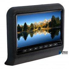 Навесной монитор со встроенным DVD плеером и LCD монитором 9' Ergo ER9L (чёрный) [ER9L black]