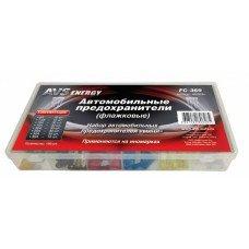 Набор предохранителей AVS FC-369 BOX 'мини' (180 шт)