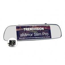 Видеорегистратор в зеркале TrendVision aMirror Slim Pro