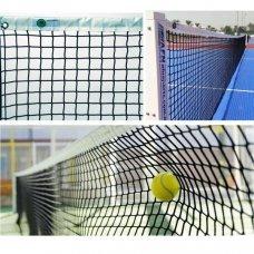 Сетка для большого тенниса El Leon De Oro 13444004501 черно-белая