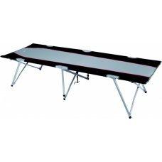 Кровать, темно-серый/голубой HIGH PEAK Campingliege Oviedo