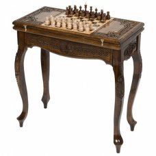 Стол ломберный нарды+шахматы Haleyan kh401