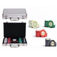 Набор для покера на 200 фишек Partida Luxury Ceramic Lux200