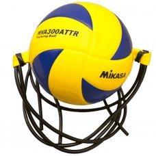 Мяч на растяжках волейбольный Mikasa MVA300ATTR размер 5, желтый/синий