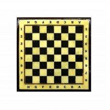 Шахматная доска малая с рамкой Амберрегион yantar09 25х25 см