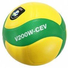 Мяч волейбольный Mikasa V200W-CEV размер 5 желто/зеленый