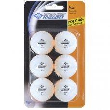 Мячики для настольного тенниса Donic Jade 40+ 6 шт белые