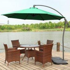 Садовый зонт Garden Way A005 зеленый