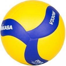 Мяч волейбольный Mikasa V330W р 5 желтый/синий