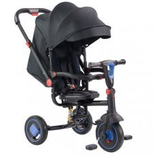 Детский трехколесный велосипед (2020) Farfello TSTX-019 черно-синий