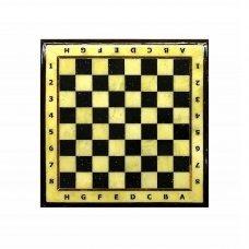 Шахматная доска средняя с рамкой Амберрегион yantar16 37х37 см