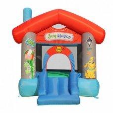Детский надувной батут Happy Hop Дом веселья 9215