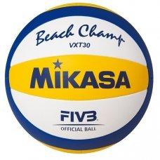 Мяч пляжный волейбольный Mikasa VXT30 р 5 синий/желтый