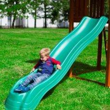 Горка для игрового комплекса New Sunrise Extreme wave slide green