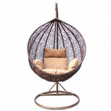 Детское подвесное кресло Kvimol КМ-0001 малая коричневая корзина