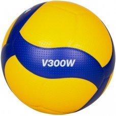 Мяч волейбольный Mikasa V300W р 5 желтый/синий
