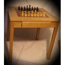 Шахматный стол без фигур WoodGames WGN-TBL-TUR «Турнирный»