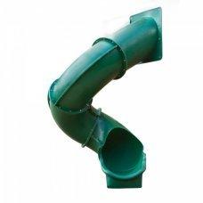 Детская винтовая горка Playnation Super Tube Slide Green
