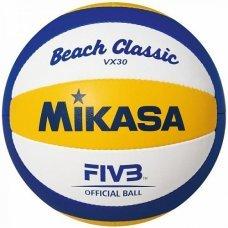 Мяч для пляжного волейбола Mikasa VX30 размер 5 сине/желтый