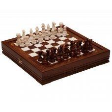 Шахматы каменные Rovertime RTG-9205 «Европейские»